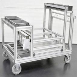 Aluminium-Profile-Trolleys